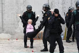 Catalonia….the silence.