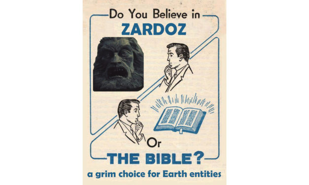 ZARDOZ'S FRIDAY NIGHT ADVICE