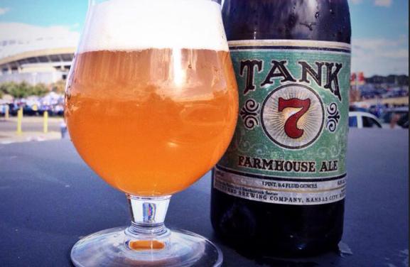 Review – Tank #7 Farmhouse Ale
