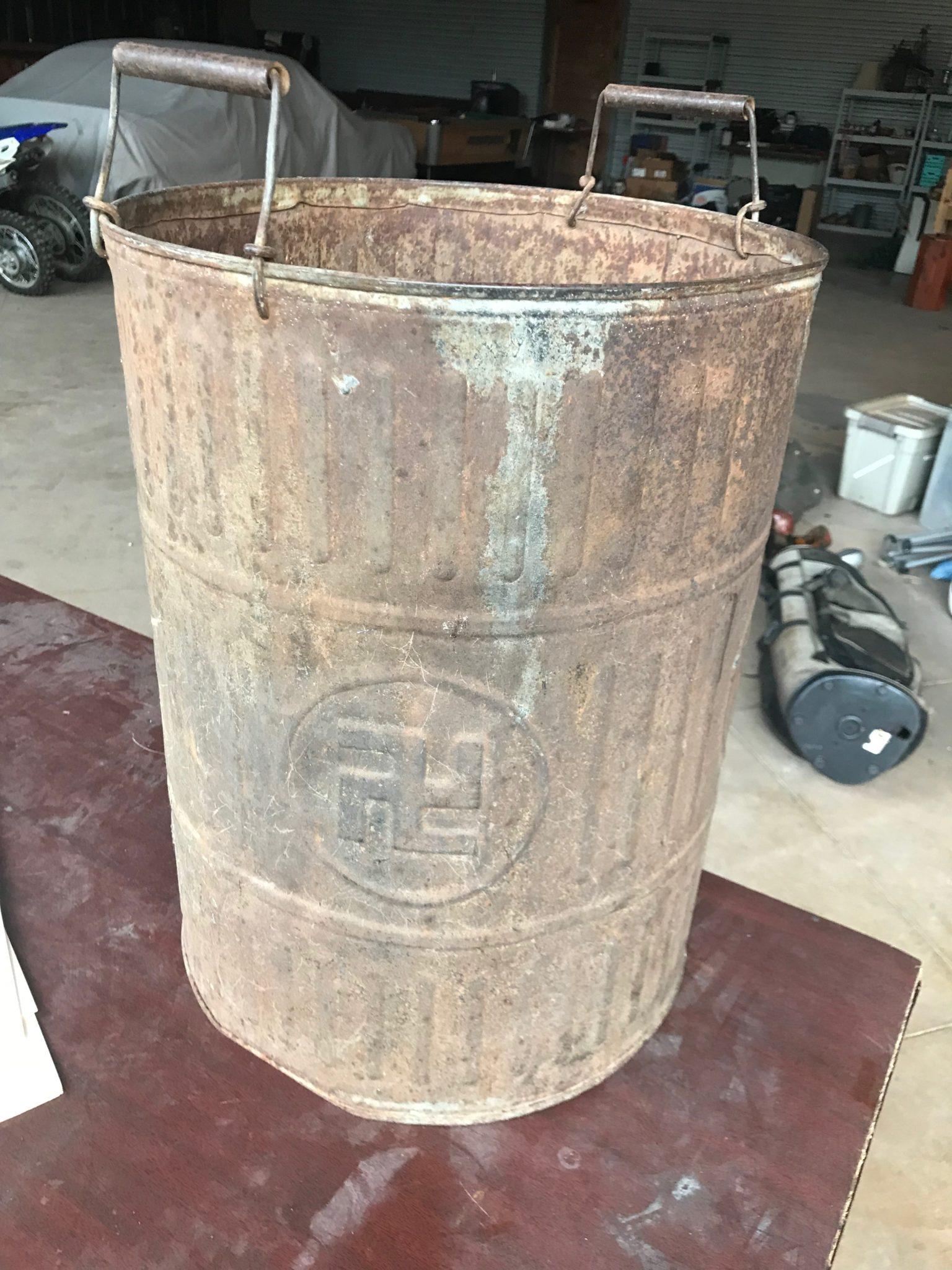 the Nazi ash bucket