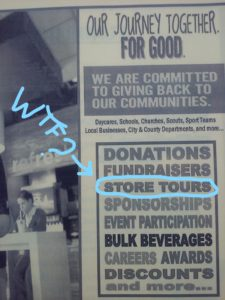 Because if they did, that'd actually be pretty fucking awesome, and I'd sign up for the store tour.