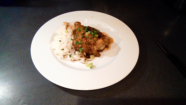Spontaneous Cooking for One: Chicken Adobo