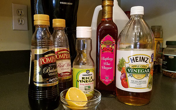 Spontaneous Cooking: Homemade Salad Dressing