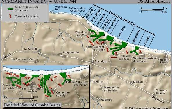 A Slice of Omaha Beach: D-Day, 1944 pt. 1
