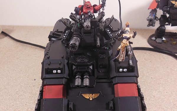 Kitbash: Drive Me Closer, I Want to Hit Them With My Sword