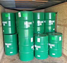 My first trash barrel was green