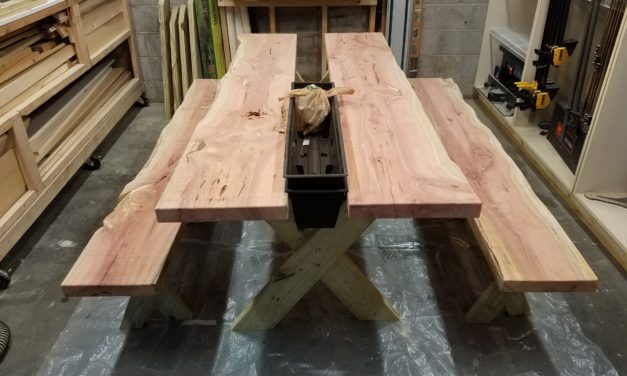 Working Your Wood with McGinty – Picnic Table