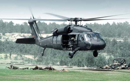 Army Unveils New 'Peaceful Protester' Attack Helicopter
